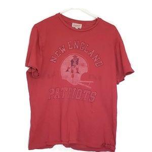 Vintage Junk Food New England Patriots Shirt SZ M